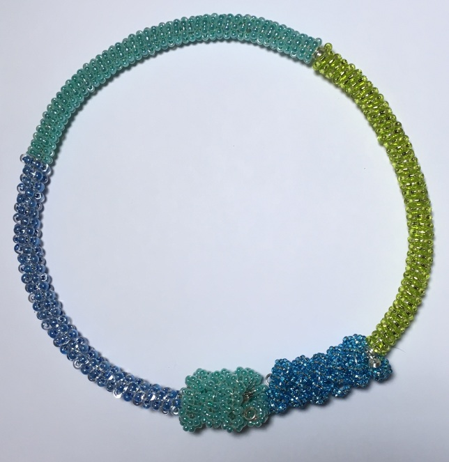 Necklace Blue/Green_©2016